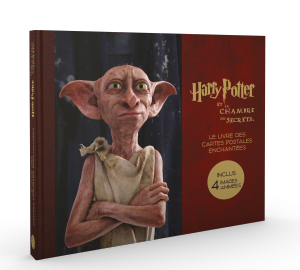 Harry Potter, le coffret de cartes postales la chambre des secrets