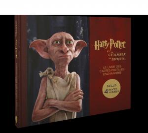Harry Potter, le coffret de cartes postales la chambre des secrets