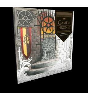 Game of Thrones : Le Livre de coloriages pour adulte