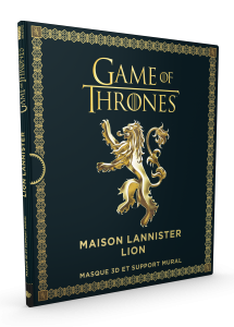 Game of Thrones, le masque Lannister