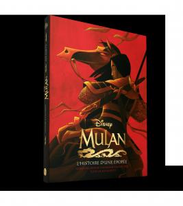 Les Beaux Livres Disney : Mulan, l'histoire d'une épopée