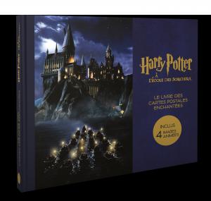 Harry Potter, le coffret de cartes postales l'école des sorciers