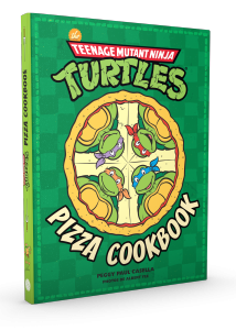 Les tortues ninja, pizza cookbook