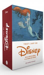 Coffret de cartes postales Disney