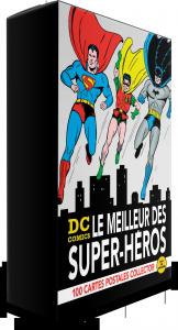 DC Comics, le meilleur des super-héros : 100 cartes postales collector