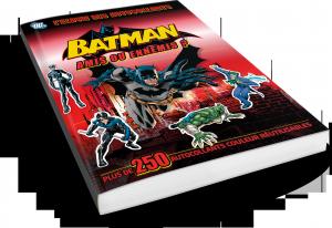 Batman, l'album des autocollants n°1 Amis ou ennemis