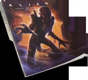 Alien, le livre poster