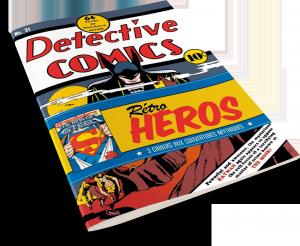 DC Comics : Rétro Héros : Trois Cahiers aux couvertures mythiques