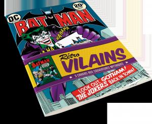 DC Comics : Rétro Vilains : Trois Cahiers aux couvertures mythiques