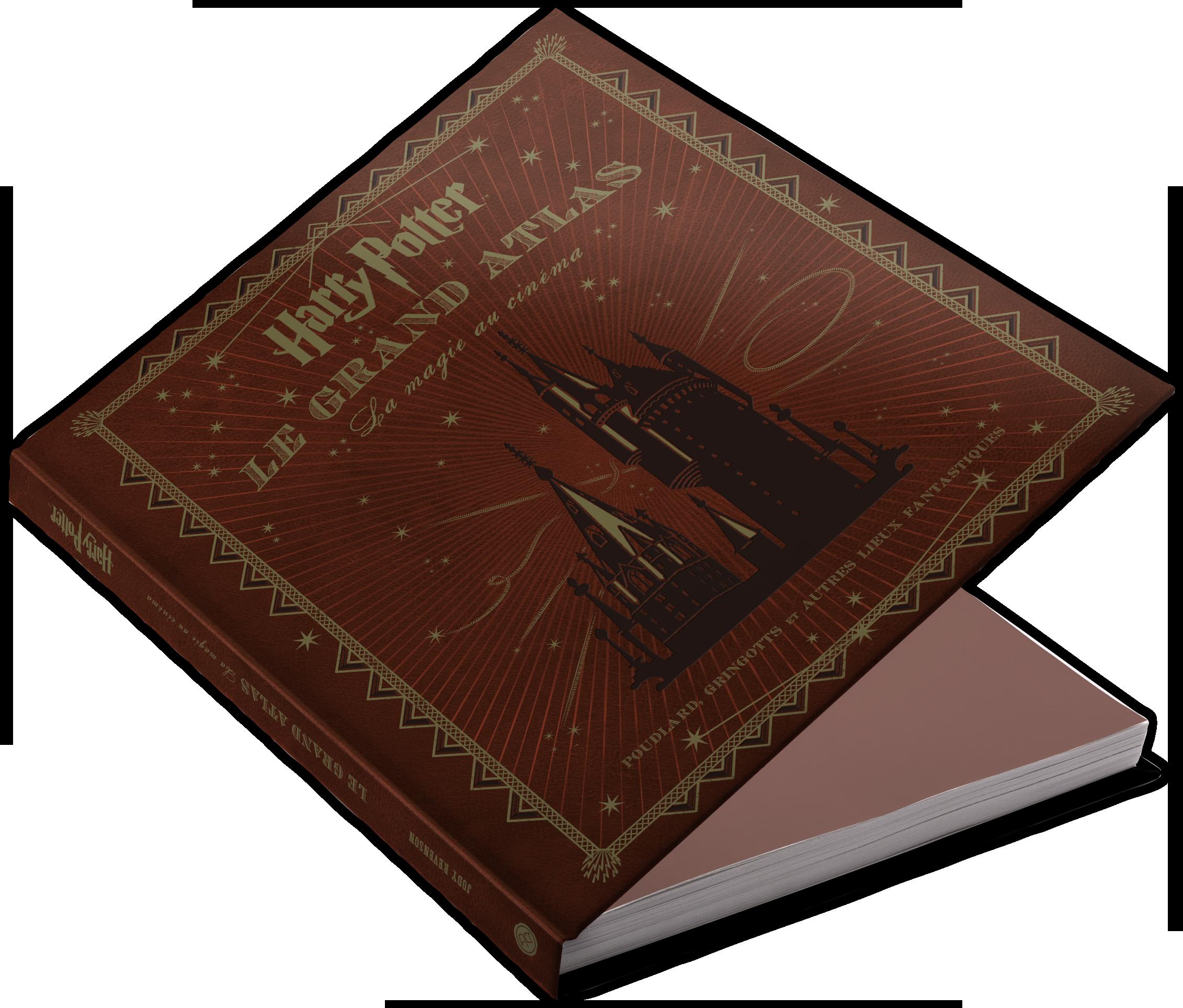 Harry Potter Book Cover Png : Huginn muninn ・ harry potter le grand atlas la magie